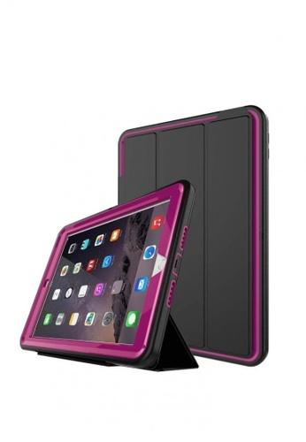 "MobileHub black iPad 2018 (9.7"") 6th Gen. Extreme Hybrid Shockproof Case (Black/Pink) DC5F3AC6B3D774GS_1"