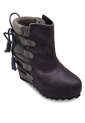 Slip On Inner Wedge Boots, esprit tw女鞋, 靴子