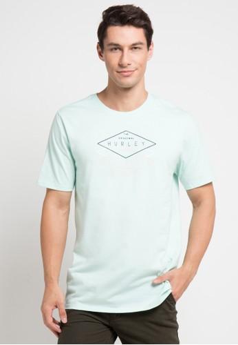 hurley blue Cre Tuberide T-Shirt E4003AA55369A5GS_1