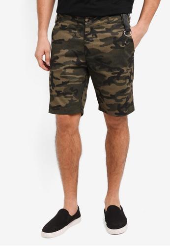 Flesh IMP 綠色 Butler Plain Shorts 851FCAA99D6279GS_1