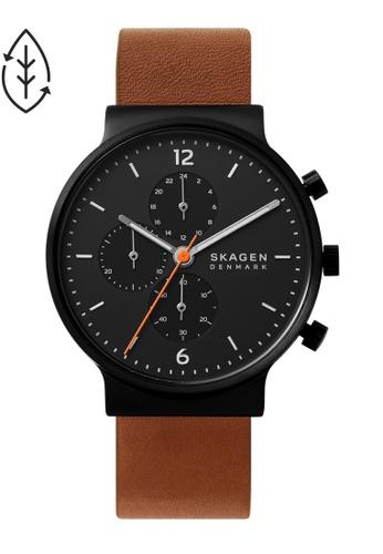 SKAGEN brown Ancher Watch SKW6767 54F47AC71158BDGS_1