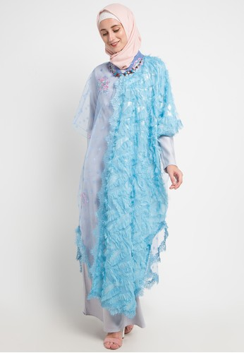 LUIRE by Raden Sirait blue and multi Oc-Rosya AD497AA5295270GS_1