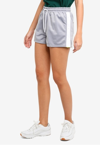 Factorie grey and multi Popper Shorts ADBBBAA3D3CAC5GS_1