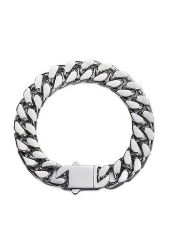 HAPPY FRIDAYS Stylish Titanium Steel Bracelet DW0884 225A0ACC05EA11GS_1