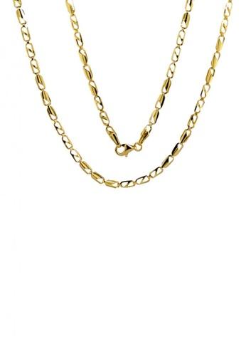 KARAT WORLD gold 18Kt Yellow Gold Chain CCE18AC01086B7GS_1