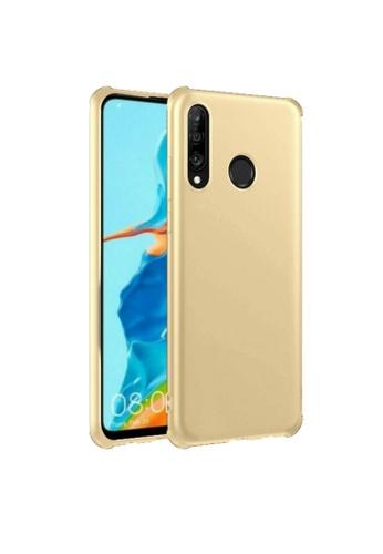 MobileHub gold Huawei P30 Lite X-Level Slim Case Rubberized Finish D16FAACF3AD37EGS_1