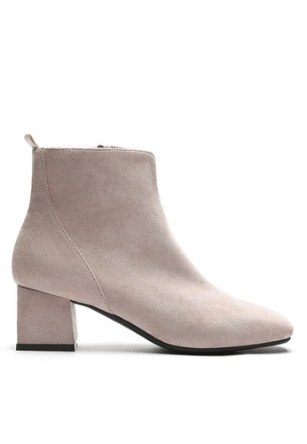 Twenty Eight Shoes Synthetic Suede Ankle Boots 1922-2 05048SHF09F97BGS_1