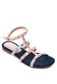 Frances Flat Sandals