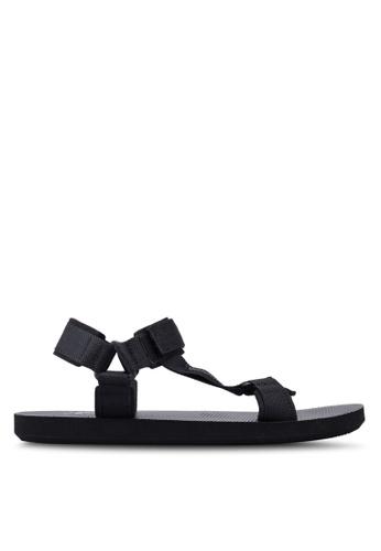 Reebok black Training Core EXPCE Sandals E9F10SH0692032GS_1