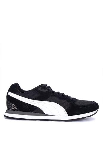 Puma grey Retro Runner Sneakers 51473SH9E3E42AGS_1