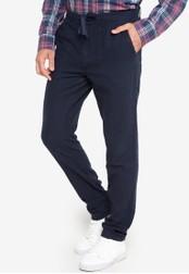 Joe Fresh blue Linen Pants JO088AA04TDBPH_1
