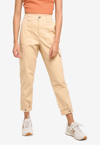Supre brown Utility Jordan Pants D01BAAAD6563C9GS_1