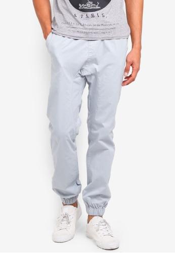 Cotton On blue Drake Cuffed Pants 67B4CAAC204E9CGS_1
