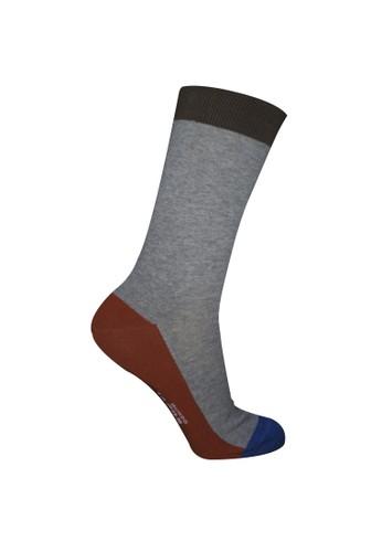 Mundo grey Mundo Jeans Casual Men Sock - JN2O005 64E54AAA668C1BGS_1