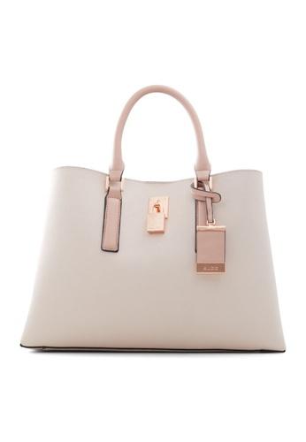 ALDO pink Areawiel Tote Bag 4D238AC17A384DGS_1