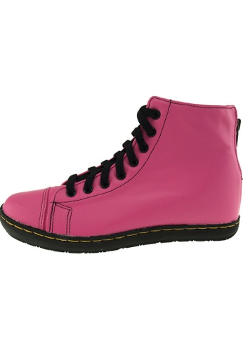 Maxstar 粉紅色 新款韩国鞋202-BZ-TC-Taller時尚皮革布混合女粉紅色 US Women Size MA345SH24GWDTW_1