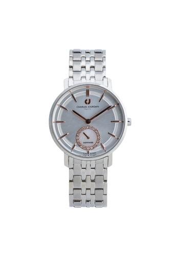 Charles Jourdan silver Charles Jourdan CJ1032- 2312 - Jam Tangan Wanita - Silver BO710AC0WAAYID_1