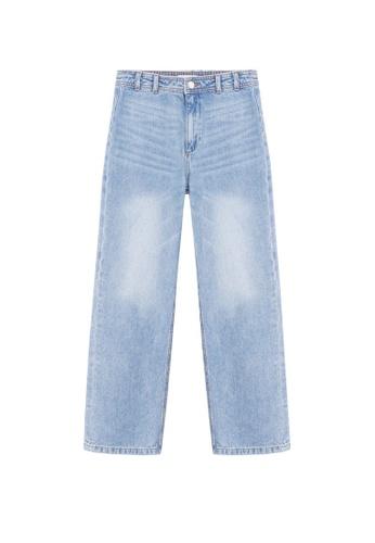 MANGO KIDS blue Jeans Wide Leg CE8CCKA2800394GS_1