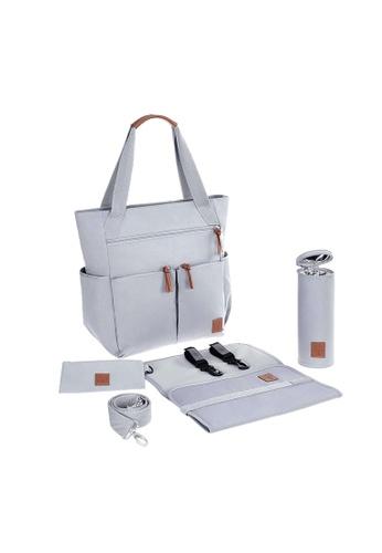 LASSIG grey Lassig Vintage Friisa Diaper Bag(Grey) 03F4CKC5DEE2FBGS_1