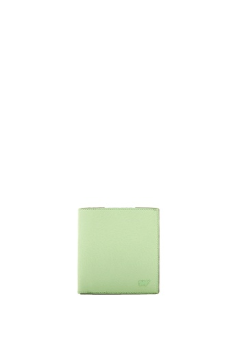Braun Buffel green Ophelia 2 Fold Wallet With Coin Compartment in Green Ash 3222BAC17012B8GS_1