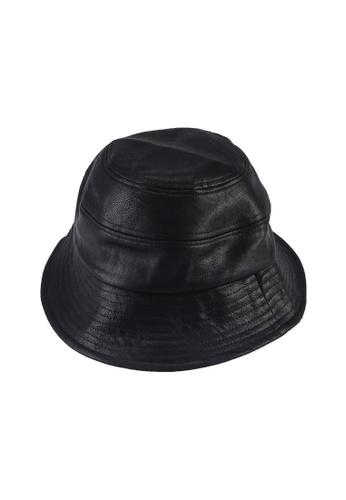 Rubi 黑色 Pia Bucket Hat FD3EAAC5038494GS_1