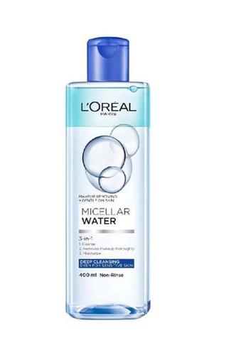 L'Oréal Paris L'Oréal Paris Bi-Phase Deep Cleansing Micellar Water 400ml 5BCD3BEE0E9866GS_1