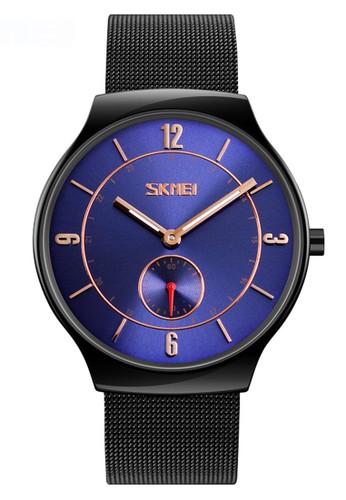Digitec black Skmei - Jam Tangan Pria - Black - Stainless Steel - 9163-B 9F6C6AC1F5FF41GS_1
