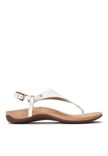 Vionic white Kirra Backstrap Sandal 55A89SHC949980GS_1