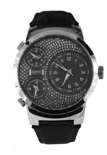 Esprit black Esprit ESEL101292F02 POLYDORA GREY SWAROVSKI DIAL Ladies Watch 11B29AC764E7D6GS_1