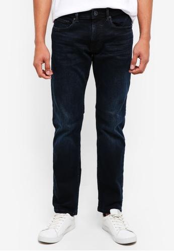 ESPRIT 藍色 休閒牛仔褲 4A0EBAA1821230GS_1