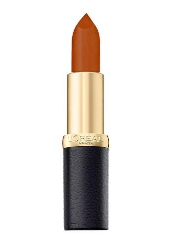 L'Oréal Paris red L'Oreal Paris Color Riche Matte 271 Divine Mocha 5905FBEE3F0C37GS_1