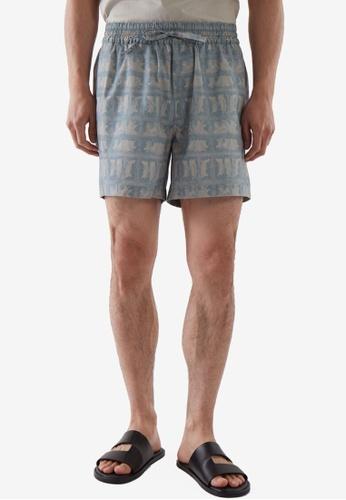 COS grey Elasticated Shorts 3BA58AA9BF1D03GS_1