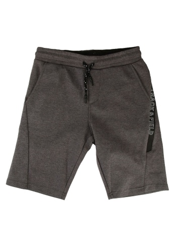 FOX Kids & Baby grey Track & Field Shorts 46679KAADB96DFGS_1