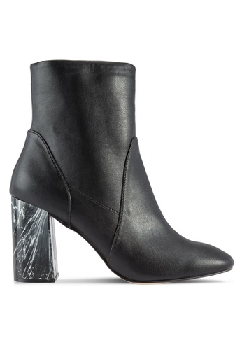 Dorothy Perkins black Black Amanda Mono Heel Boots DO816SH73ZJYMY_1