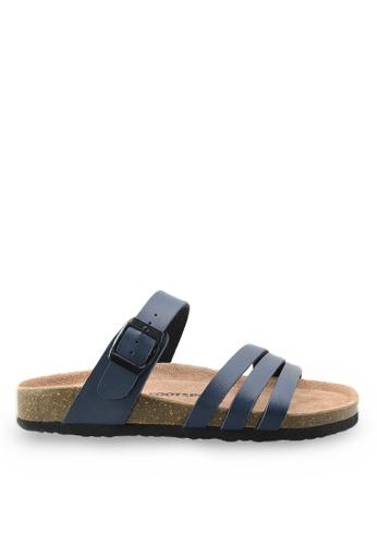Footspot blue Footspot – Casual Cork Sandals FO296SH55EAUHK_1