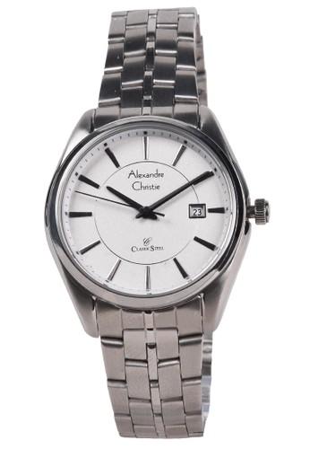 Alexandre Christie silver Alexandre Christie - Jam Tangan Wanita - Silver - Stainless Steel Bracelet - 8578LDBSSSL F3367ACD471EEFGS_1