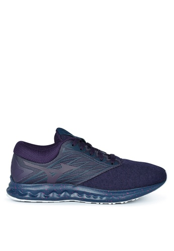 Mizuno purple Wave Polaris Running Shoes F9B0CSH6A1F729GS_1