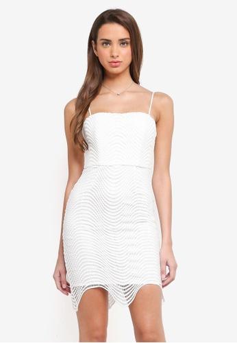 Bardot white Spiral Lace Dress BA332AA0STB1MY_1