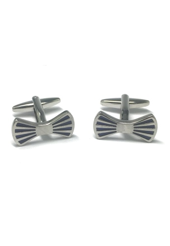 Splice Cufflinks Dicky Bow Tie Cufflinks SP744AC40ABBSG_1