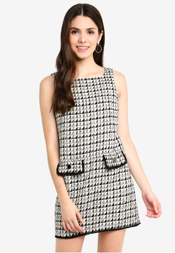 cfea83d867d6 Buy Dorothy Perkins Petite Boucle Shift Dress Online on ZALORA Singapore