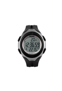 50M Waterproof Pedometer Watch With Stop Watch Timer