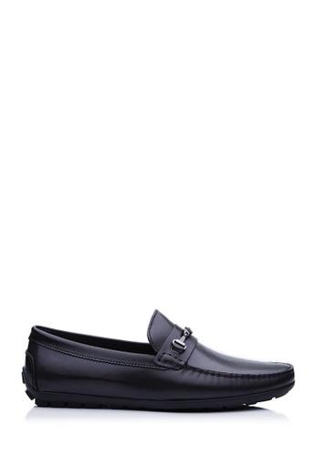 BONIA black Black Basic Driving Shoes B8868SHD1A63FCGS_1