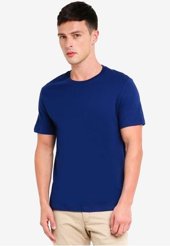 Burton Menswear London 藍色 圓領T恤 3DCA3AA854EADDGS_1