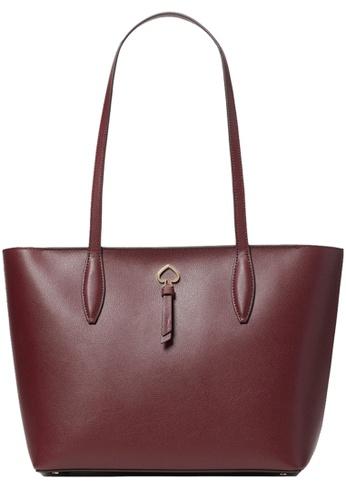 Kate Spade red Kate Spade Adel Small Tote Bag in Cherrywood DDA55ACBE00B6AGS_1