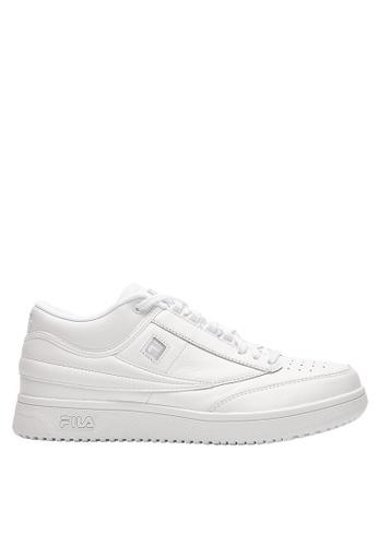 FILA white T-1 Sneaker 9B3B8SH3443E29GS_1