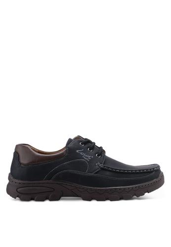 Louis Cuppers black Versatile Boat Shoes 6C961SH6EEA83AGS_1