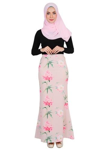 498585a778 Thania Printed Mermaid Skirt