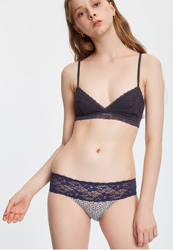 Celessa Soft Clothing Malibu - Low Rise Cotton Stretch Lace Waist Brief Panty A5248US5540176GS_1
