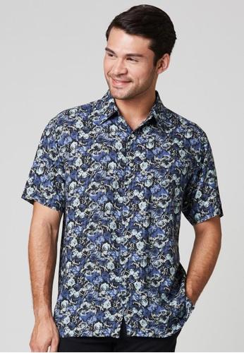 East India Company Naveen- Short Sleeve Printed Shirt 527F8AA850FB1AGS_1