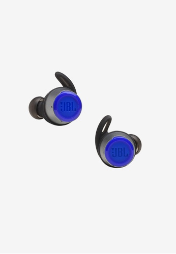 JBL blue JBL Reflect Flow True wireless sport headphones with JBL Luggage Tag D3961ACC7293F7GS_1